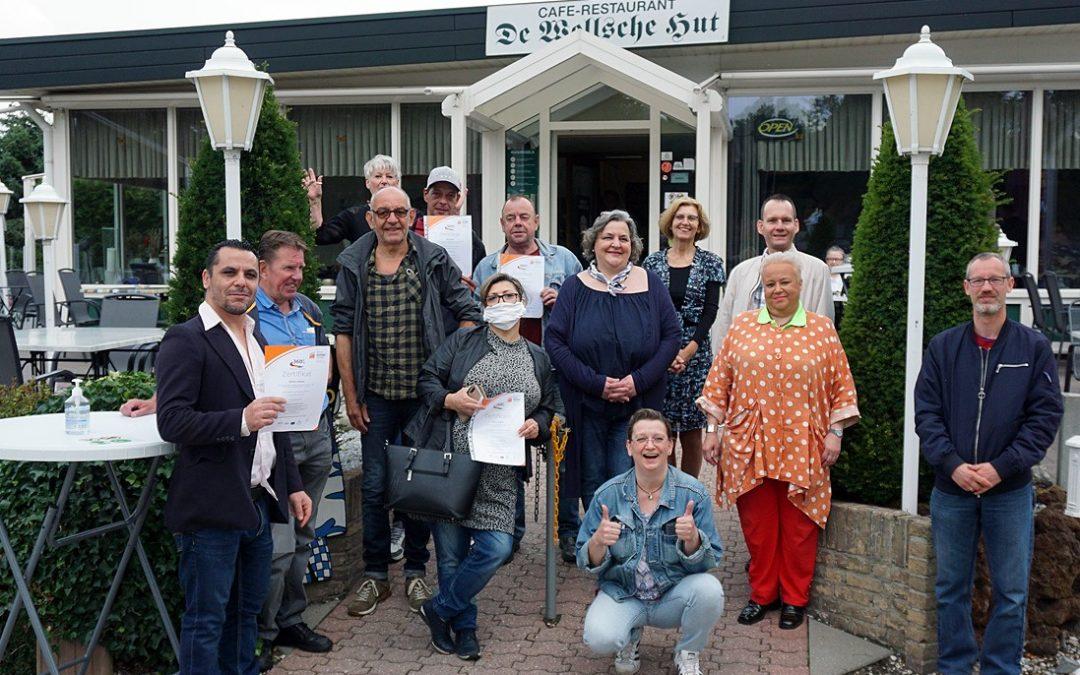 PERSPEKTIVE 360 GRAD: TEILNEHMENDE FEIERTEN ABSCHLUSS
