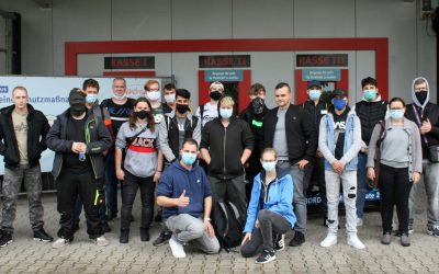 MESSEBESUCH DER BBZ-METALLER IN KALKAR